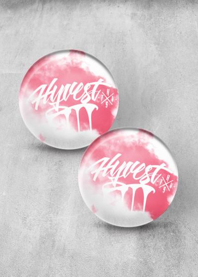 Drippin Pink Smoke Print