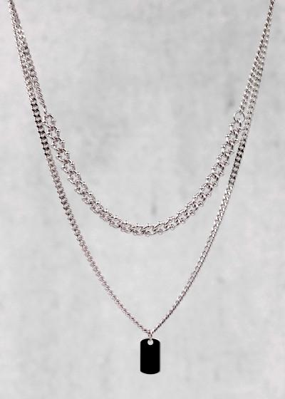 Hemera Halskette silber