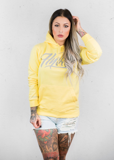 Oversized Summer Hoodie Lemon