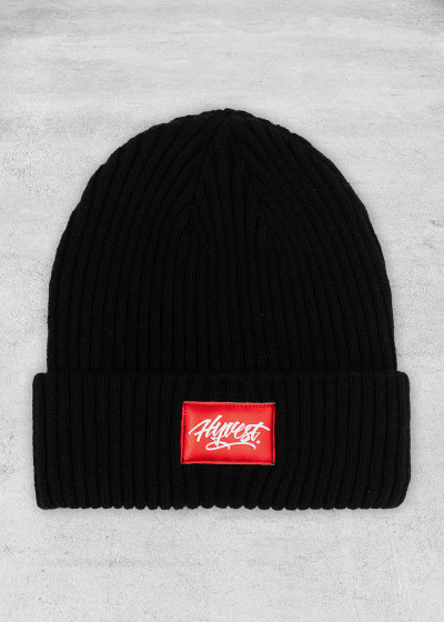 Beanie Roughly Black