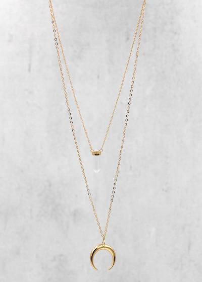Luna Halskette gold