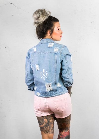 Crossed Jeans Jacket