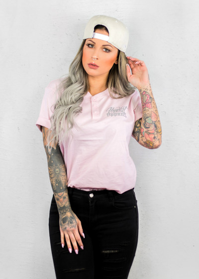 Basic Button Pink Shirt