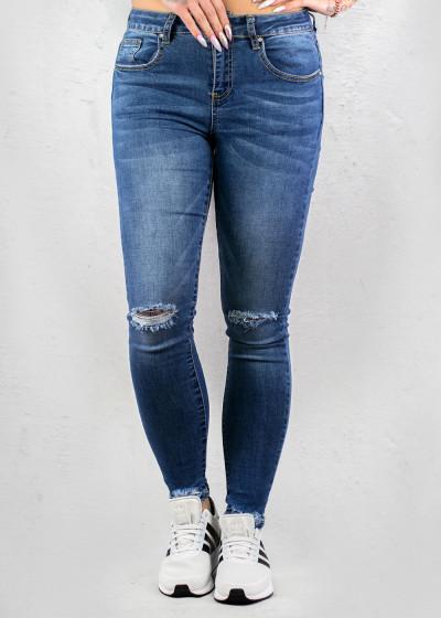 Classic Blue Cross Jeans
