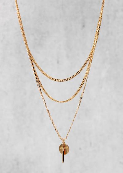 Ares Halskette gold