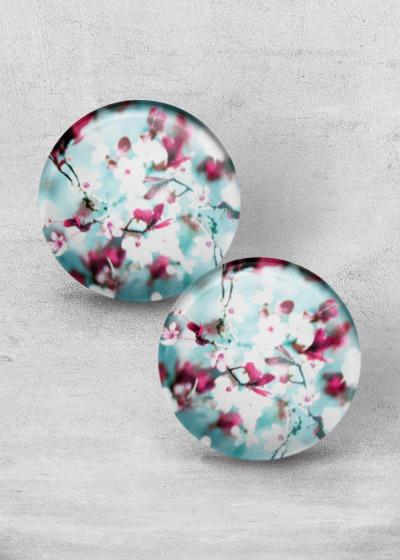Minty Blossom Print