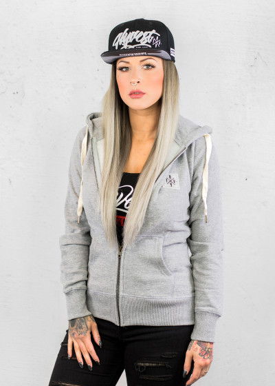 Basic Gray Zip Jacket