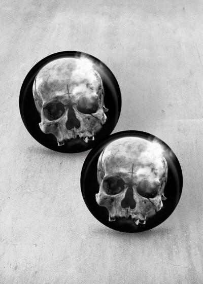Breath Skull Print