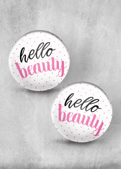 Hello Beauty Print